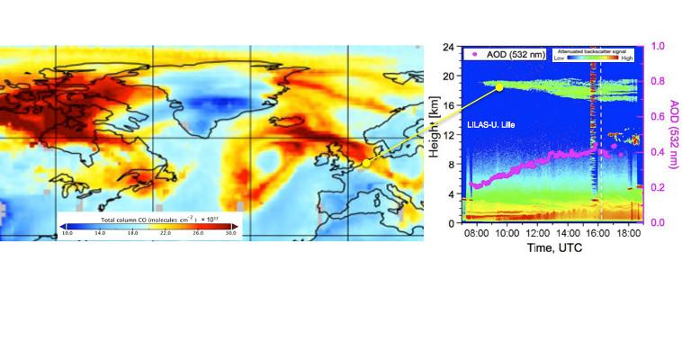 Un évènement aérosol exceptionnel affectant la stratosphère détecté