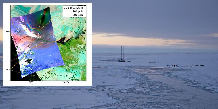 La pollution atmosphérique réduit la durée de vie des nuages arctiques